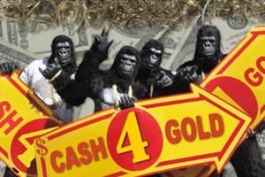 Cash For Gold Gorillas