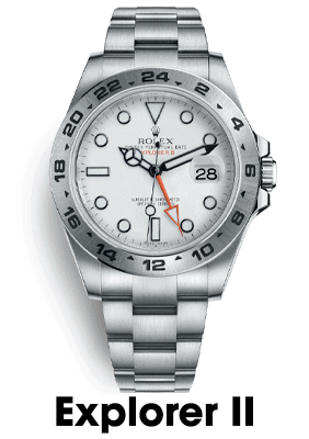 Sell Rolex Explorer II