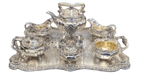 cash for sterling silver tea sets los angeles